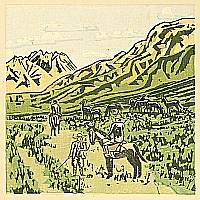 Senpan Maekawa 1888-1960 - Aso -  Hot Spring Notes