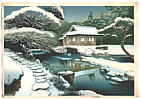 Bakufu Ono 1888-1976 - Tea House in Snow