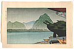 Gihachiro Okuyama 1907-1981 - Ame no Shimoda Fuji