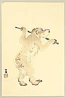 Seiho Takeuchi 1864-1942 - Dancing Monkey