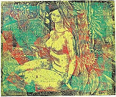 Yang Yongsheng born 1967 - A Girl in the Forest