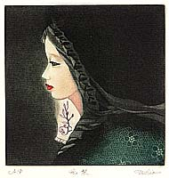 Ushio Takahashi born 1944 - Chinese Lady