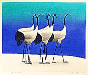 Hao Boyi born 1938 - Cold Coagulate on the Red of Cranes