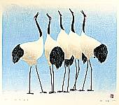Hao Boyi born 1938 - Cranes Sing for Harbinger of Spring