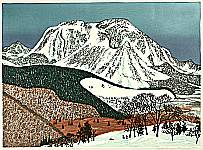 Snowy Mountain - By Fumio Kitaoka