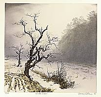 Brian Williams born 1950 - Winter Dawn