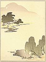Shunkyo Yamamoto 1871-1933 - Spring Landscape