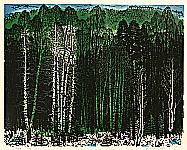 Du Hongnian 1928-1998 - Birch Forest