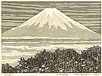Fumio Fujita born 1933 - Snow Capped Mt. Fuji