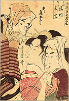 Utamaro Kitagawa 1750-1806 - Three Figures