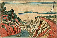Hokuju Shotei 1763-1824 - View of Ochanomizu