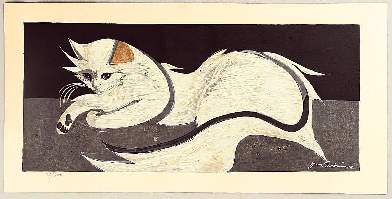 By Junichiro Sekino - White Cat