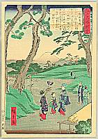 Hiroshige II Utagawa 1829-1869 - Takadanobaba - Scenic Places of Edo