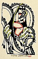 Sadao Watanabe 1913-1996 - Story of the Bible - Holy Mother and Child