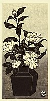 Gihachiro Okuyama 1907-1981 - Camellia Flowers
