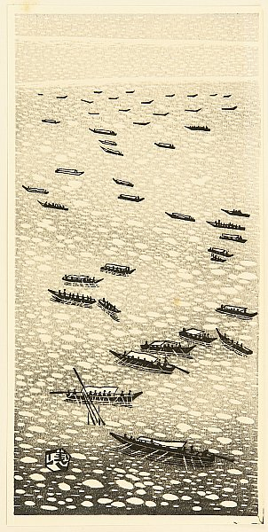 Gihachiro Okuyama 1907-1981 - Fishing Boats