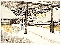 Waiting for Spring - Kazuyuki Ohtsu - born 1935