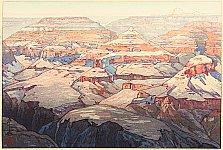 Grand Canyon - Hiroshi Yoshida