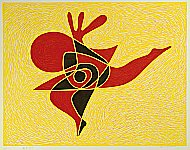 Takumi Shinagawa born 1908 - Dancing Music No.8