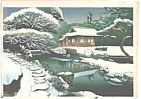 Bakufu Ono 1888-1976 - Winter Tea House