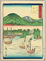 Hiroshige II Utagawa 1829-1869 - Sixty-eight Famous Views of Provinces - Sado