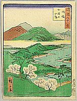 Hiroshige II Utagawa 1829-1869 - Sixty-eight Famous Views of Provinces - Inaba