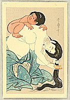 Utamaro Kitagawa 1750-1806 - Mother and Child