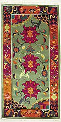 Tibetan Carpet - Lotus Medallion