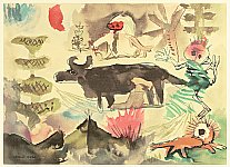 Harue Koga 1895-1933 - Children and Animals