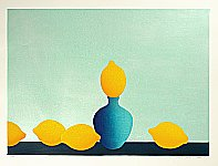 Waichi Hayashi born 1951 - Five Lemons