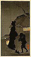 Sozan Ito 1884-? - Night Walk