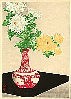 Hiroaki Takahashi 1871-1945 - Chrysanthemums
