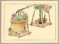 Zeshin Shibata 1807-1891 - Hana Kurabe - Iris and Bamboo