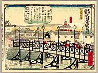 Hiroshige III Utagawa 1842-1894 - For Children's Education Series - Big Bridge