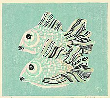 Fumio Kitaoka 1918-2007 - Glass Fish