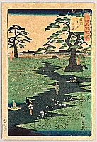 Hiroshige II Utagawa 1829-1869 - One Hundred Famous Views in the Provinces - Shinshu