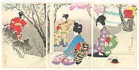 Shuntei Miyagawa 1873-1914 - Cherry Blossoms