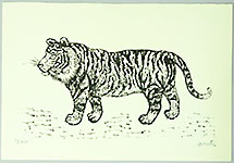 Yasu Kato 1907-1997 - Tiger