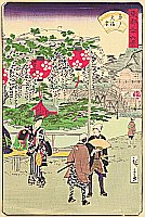 Hiroshige II Utagawa 1829-1869 - 36 Famous Views of the Eastern Capital - Nakasu