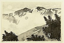 Gihachiro Okuyama 1907-1981 - Mt. Asahidake