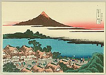 Hokusai Katsushika 1760-1849 - Fugaku Sanju-rokkei - Kai Province