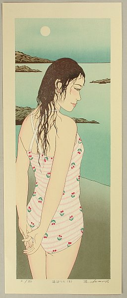 Ryusei Okamoto born 1949 - Mid Summer - First Love No. 28-B