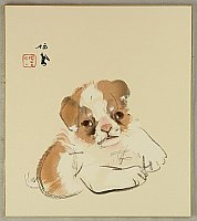 Seiho Takeuchi 1864-1942 - Puppy