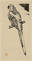 Yo Masuko 1910-1988 - Prints of Village - Parrot
