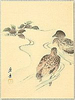 Zeshin Shibata 1807-1891 - Ducks