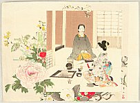 Kason Suzuki 1860-1919 - Tea Ceremony