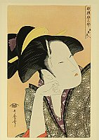 Utamaro Kitagawa 1750-1806 - Contemplating