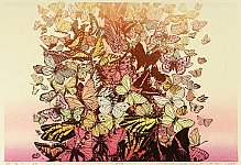 Chizuko Yoshida born 1924 - Butterflies in Autumn