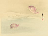 Gekko Ogata 1859-1920 - Fish