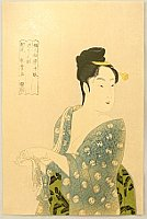 Utamaro Kitagawa 1750-1806 - Ten Examples of  Study of Women's Faces - More Like to have Affairs